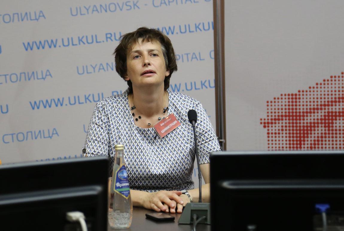Директор и художественный руководитель Ульяновской областной филармонии Лидия Ларина