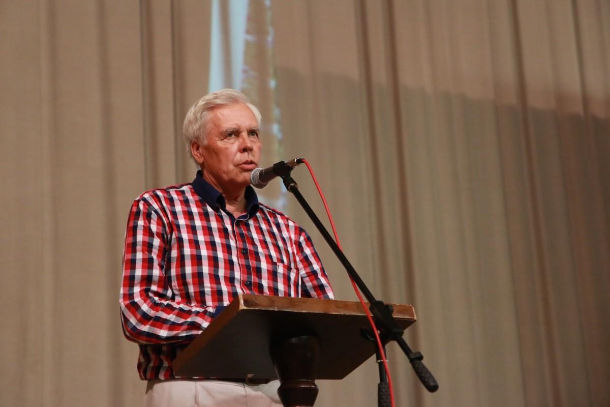 Председатель Ульяновского отделения Союза архитекторов России Вячеслав Некрасов