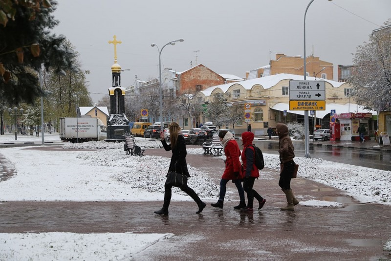 Снегопады иметели ожидаются завтра вКарелии