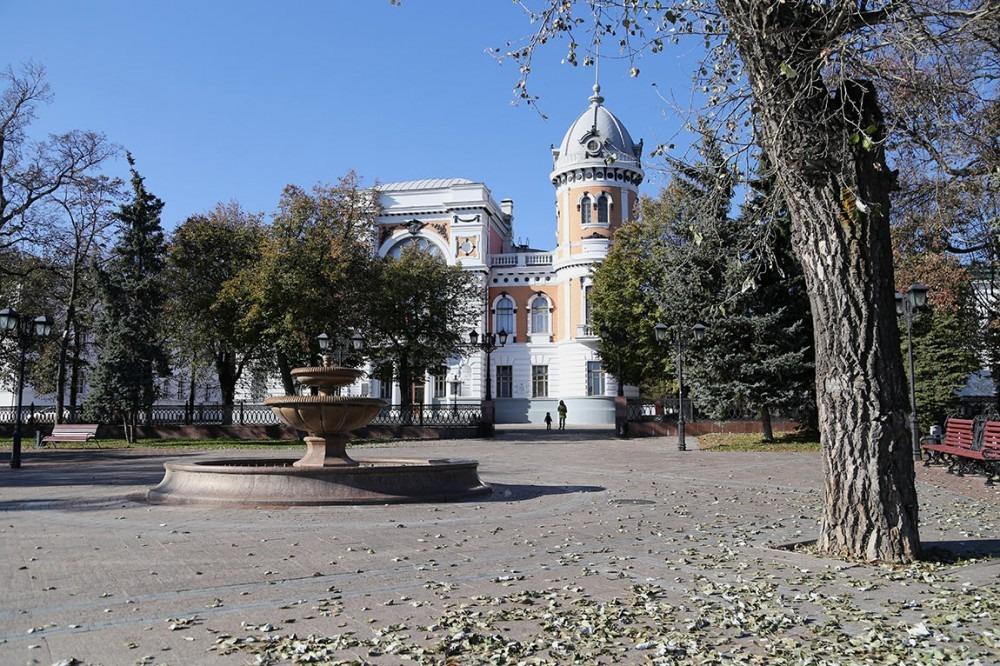 Улицы Ульяновска. Три Венца. Бульвар Новый Венец