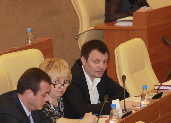 Михаил Родионов в Законодательном собрании Ульяновской области