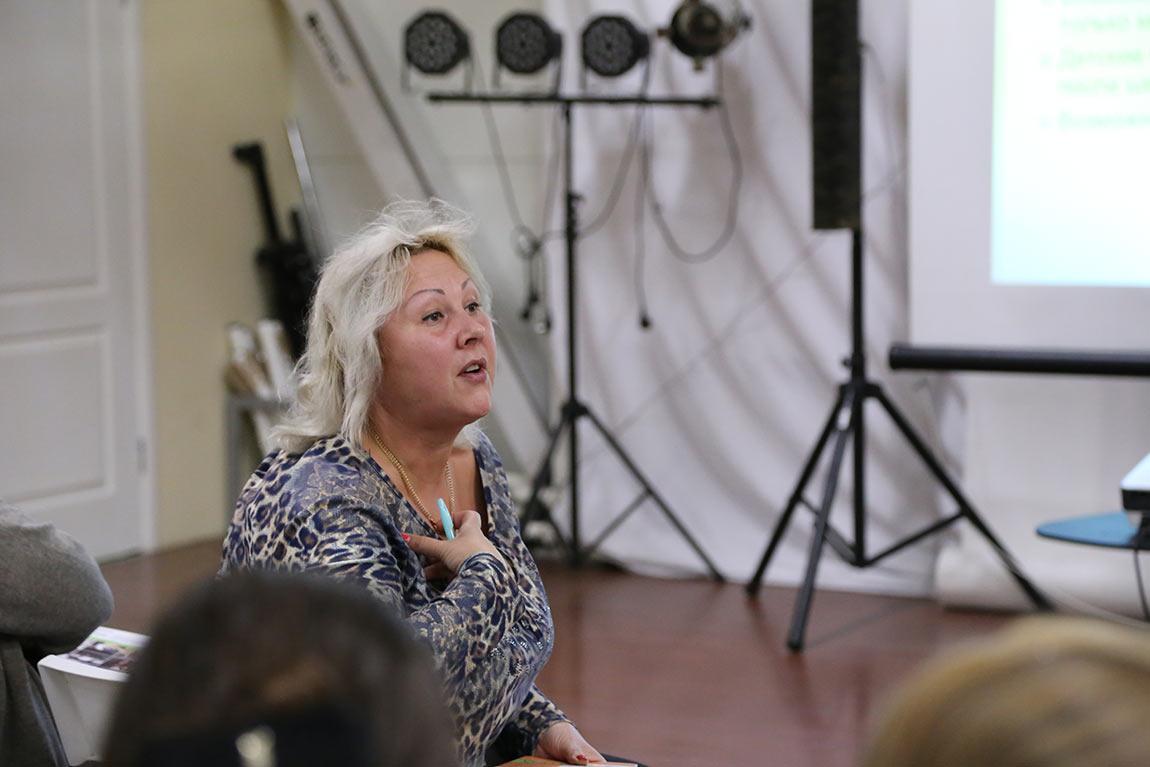 Руководитель общественной организации «Совет родителей» Елена Малышева.