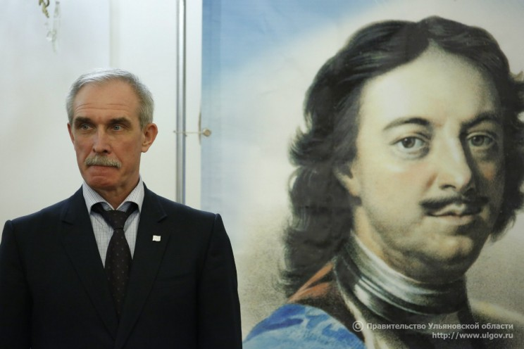 Сергей Морозов и Петр Первый
