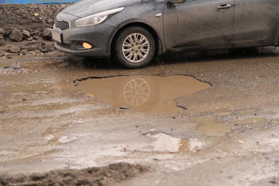 Дороги Ульяновска окончательно исчезли