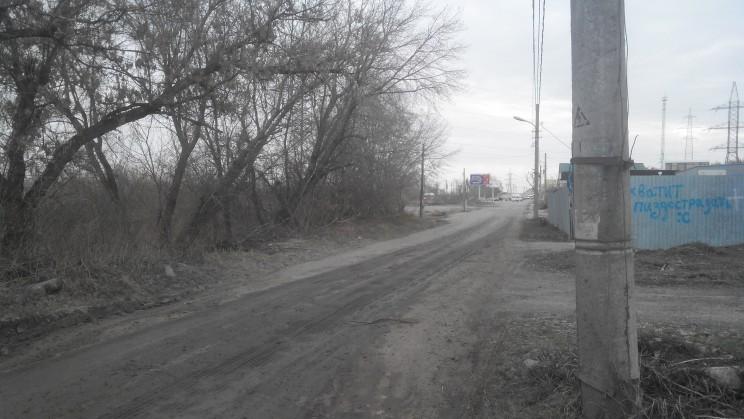 Дорога преаратилась в грязную кашу