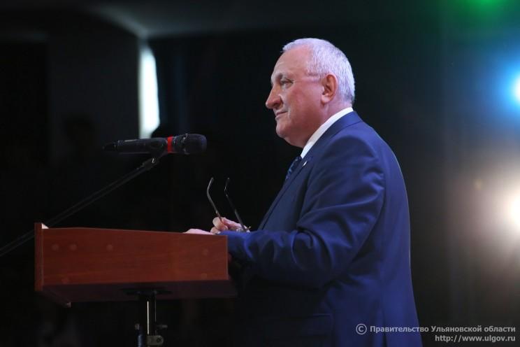 Председатель Законодательного собрания Ульяновской области Анатолий Бакаев