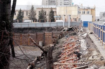 пионер парк стройка, Кременицкий, 7 апреля 2016-3
