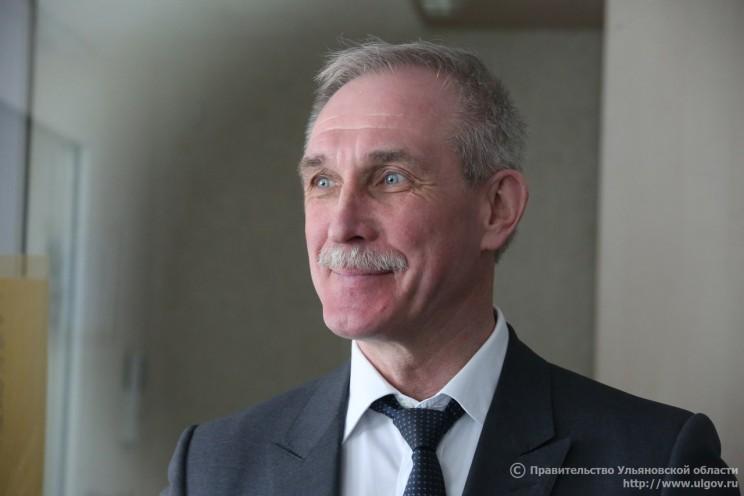 И.о. губернатора Ульяновской области Сергей Морозов