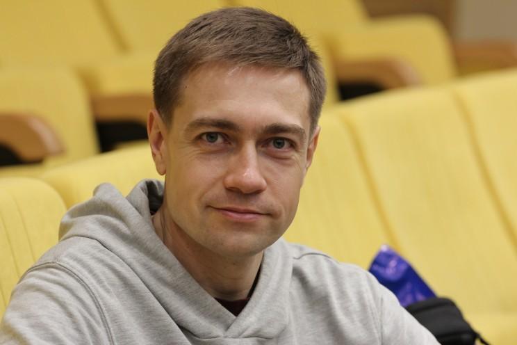 Ульяновский журналист Дмитрий Сильнов -1