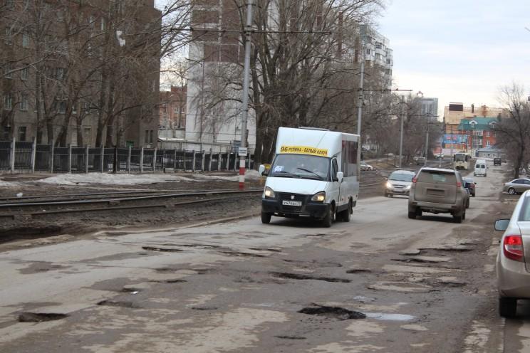 Улица Радищева в Ульяновске