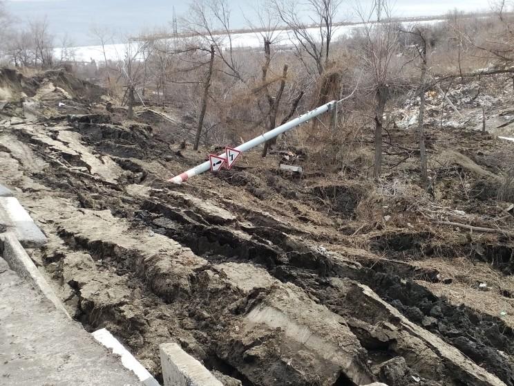 Провал на грузовой восьмерке 7 апреля -13