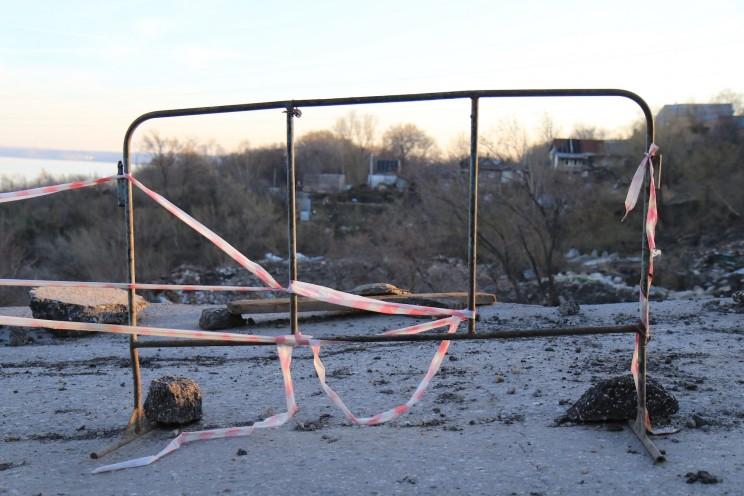 Грузовая восьмерка, оползень, 18 апреля 2016 -25