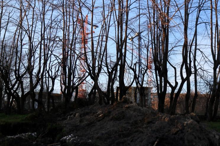 Грузовая восьмерка, оползень, 18 апреля 2016 -27