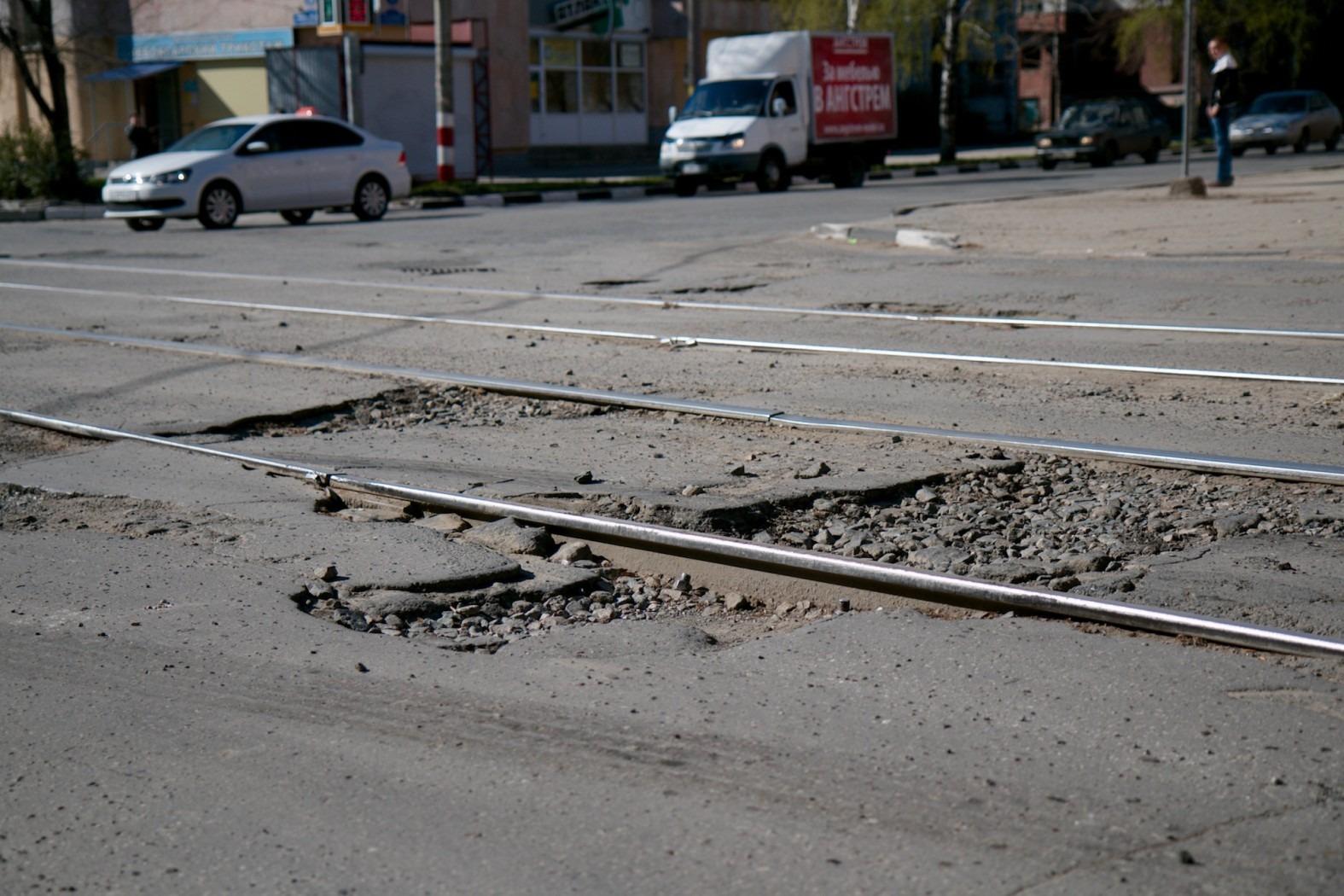Тяп-ляп или как в Ульяновске ремонтируют дороги