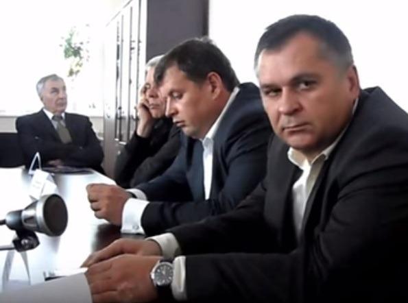Игорь Катков (на фото -райний справа), рядом с ним - нынешний глава администрации Ульяновска Алексей Гаев
