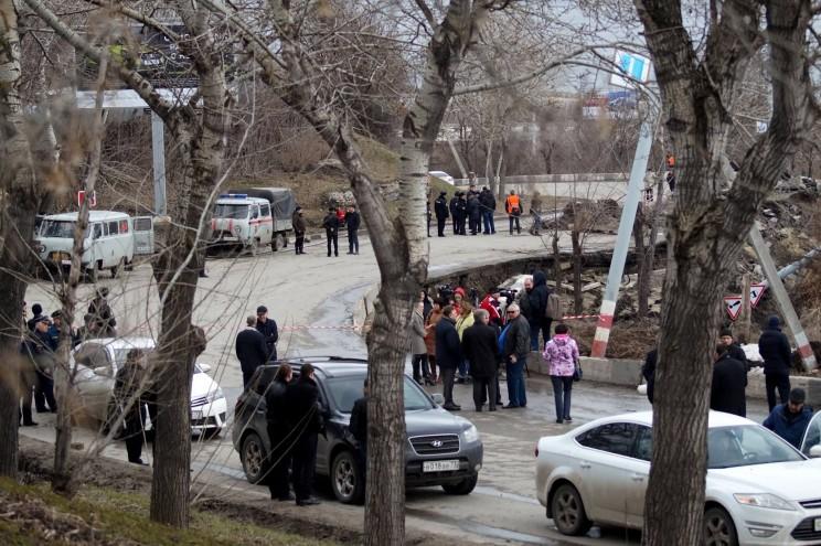 Провал грузовой восьмерки Кременицкий-12