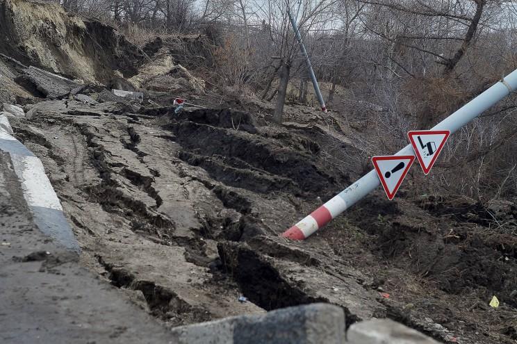 Провал грузовой восьмерки Кременицкий-20