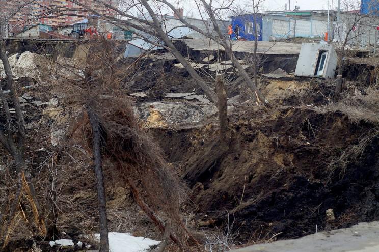 Провал грузовой восьмерки Кременицкий-3