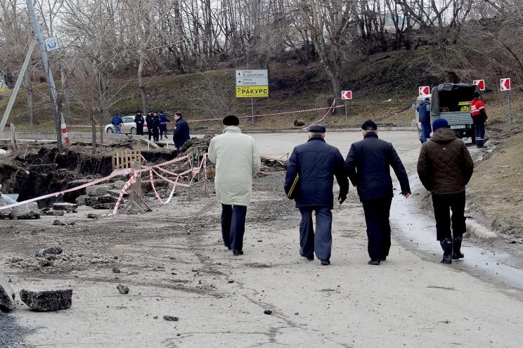 Провал грузовой восьмерки Кременицкий-5
