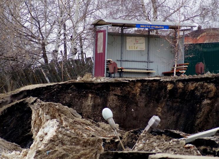 Провал грузовой восьмерки Кременицкий-6