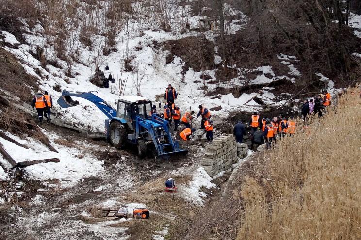Провал грузовой восьмерки Кременицкий-8