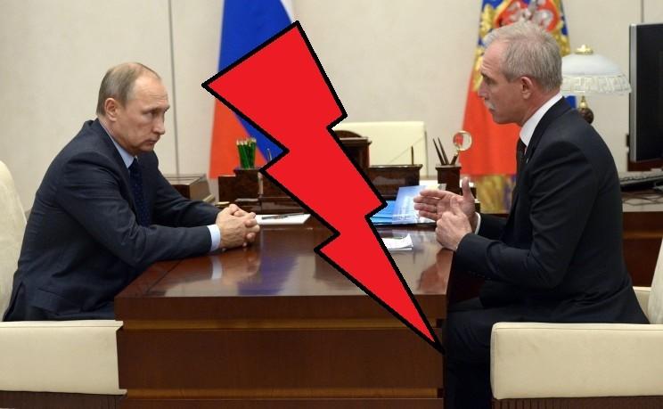 Владимир Путин и Сергей Морозов