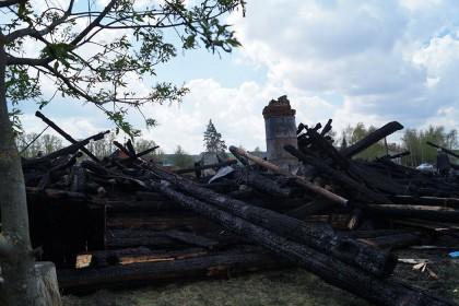 храм в прислонихе сгорел кременицкий -1