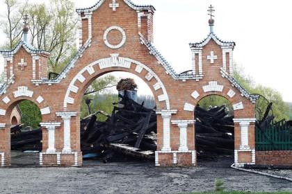 храм в прислонихе сгорел кременицкий -2