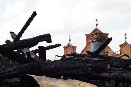 храм в прислонихе сгорел кременицкий -5