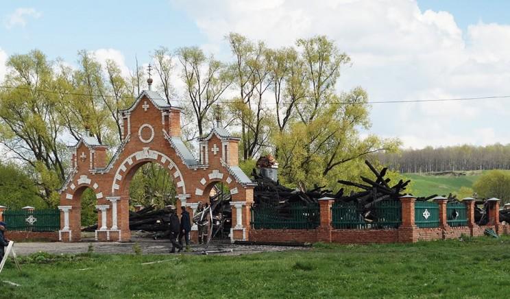 храм в прислонихе сгорел кременицкий -6