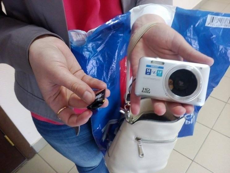 Камера журналиста, которую сломала Марина Зиннурова