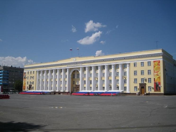Здание правительства Ульяновской области.