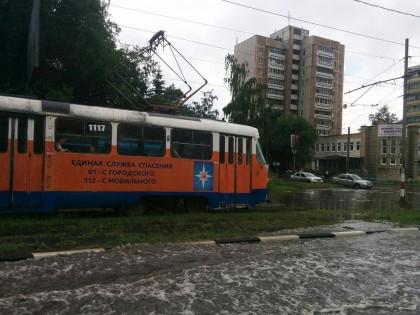 Улица Кирова и улица Карсунская