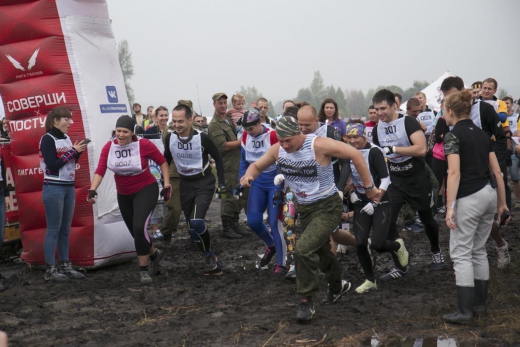 Гонка Героев: ульяновские десантники открыли полигон для любителей экстремального спорта