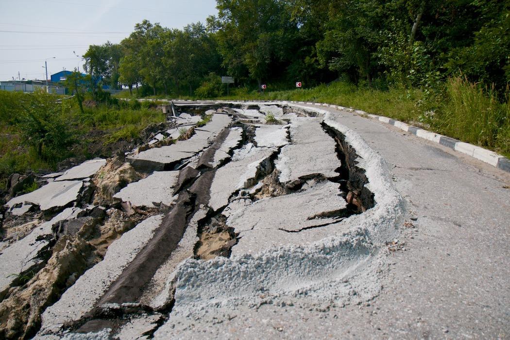Стабилизация по-ульяновски: как развивается оползень на грузовой 'восьмерке'