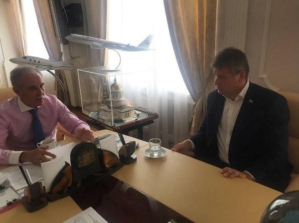 Встреча Сергея Морозова и Алексея Куринного