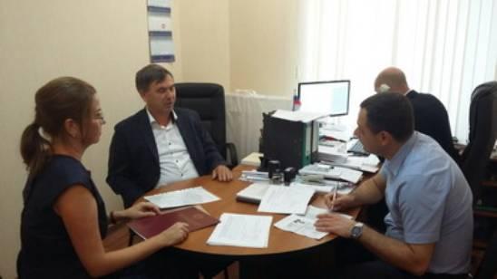 Олег Горячев подает документы на выдвижение как кандидат в Госдуму