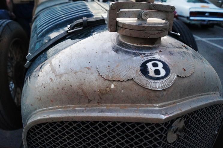 Чумазый Bentley 30-х годов