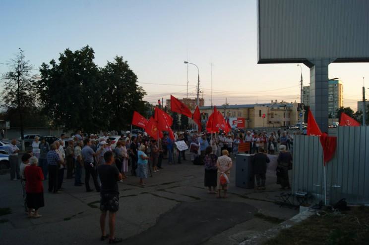 Согласованный митинг против строительства Пионер парк 16 августа 2016 - 12