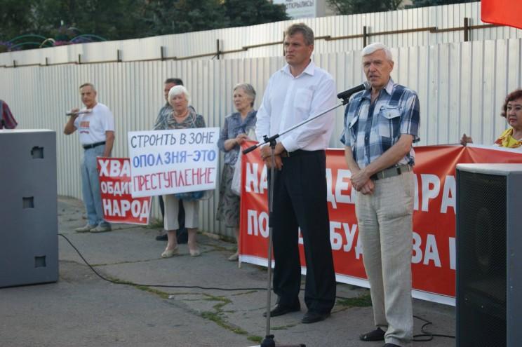 Евгений Лытяков, участник ульяновского движения «За достойную жизнь»