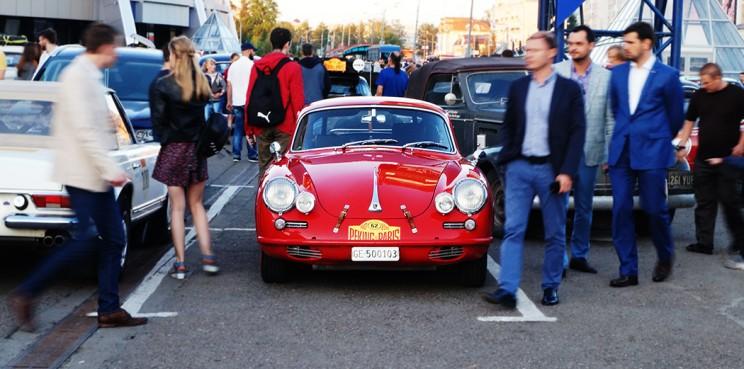 Porsche в центре внимания