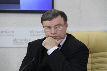 Председатель Счетной палаты Ульяновской области Игорь Егоров