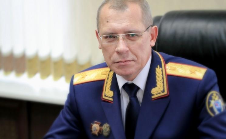 Генерал-майор юстиции, руководитель СУ СК по Ульяновской области Алексей Евдокимов.