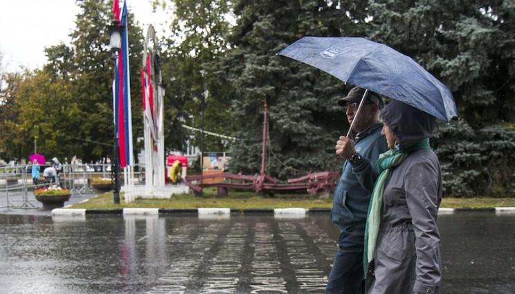 День города в Ульяновске: балет, дискотека и холодный дождь 24