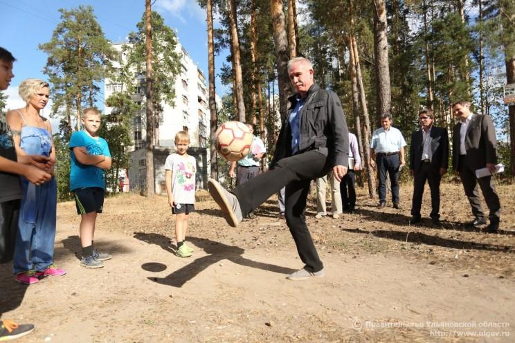 Университет футбола в Ульяновске будет готовить игроков на пяти современных полях