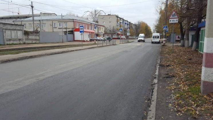 дороги; Администрация Ульяновска заставила подрядчика переделать дорогу на Радищева 2