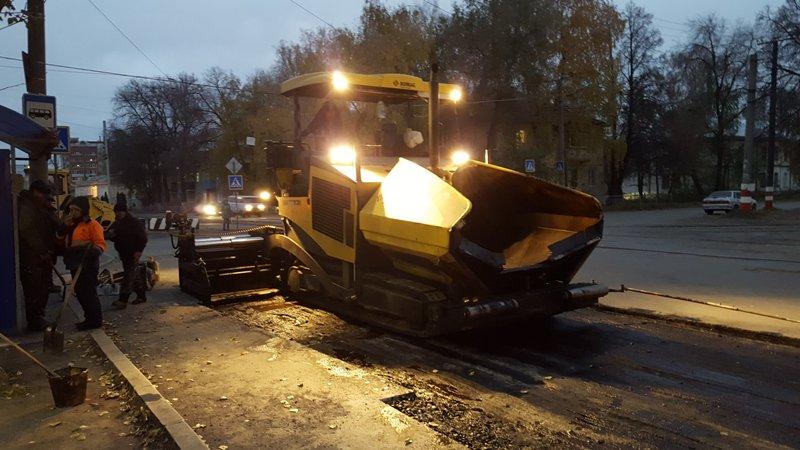 дороги;  Администрация Ульяновска заставила подрядчика переделать дорогу на Радищева