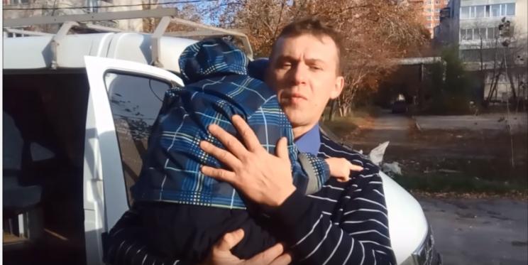 Александр Кастолин с сыном