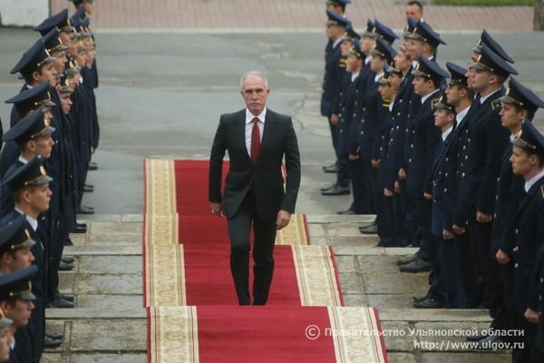 Сергей Морозов во время церемонии вступления в должность губернатора Ульяновской области, 1 октября 2016 года.