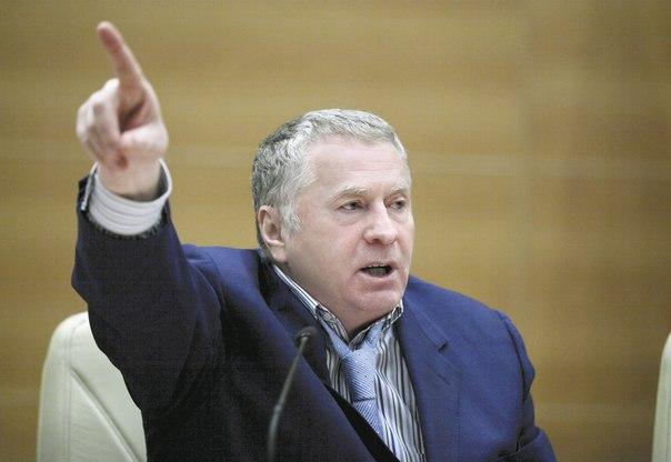 Владимир Жириновский , лидер ЛДПР